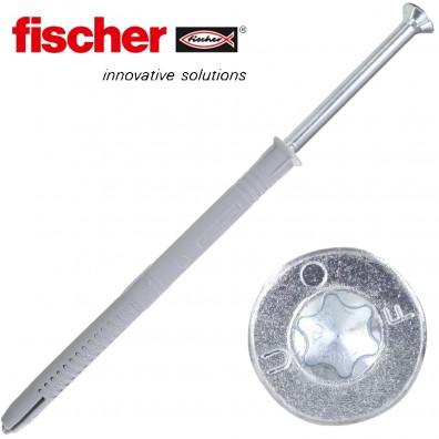 FISCHER Langschaftdübel FUR-T - mit verzinkter Schraube