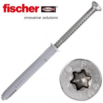 FISCHER Langschaftdübel FUR-T - mit A4 Schraube