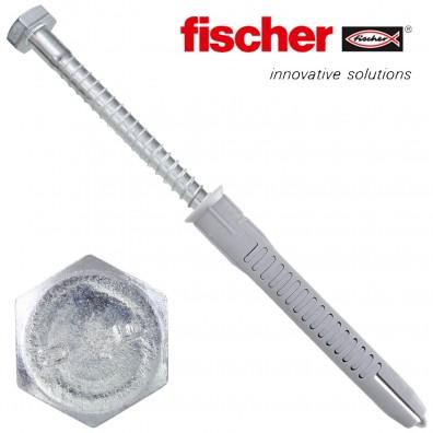 FISCHER Universal-Rahmendübel FUR-SS - mit galvanisch verzinkter Schraube