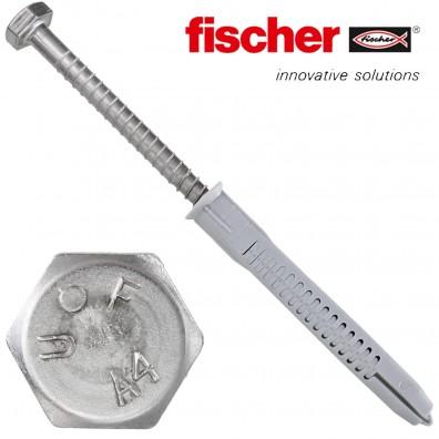 FISCHER Rahmendübel FUR-SS - mit A4 Schraube