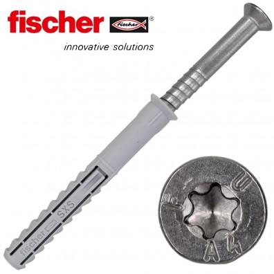 FISCHER Langschaftdübel SXS-T - mit A4 Schraube