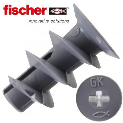 FISCHER Gipskartondübel GK - inkl. Setzwerkzeug - Kunststoff