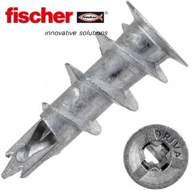 FISCHER Gipskartondübel GKM - Metall
