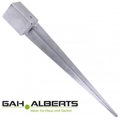 GAH Einschlagbodenhülse - 900mm lang - feuerverzinkt