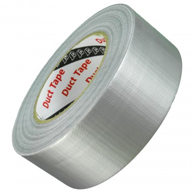 50m Rolle Panzerband / Duct Tape / Gaffa Tape - 48 mm breit - silber