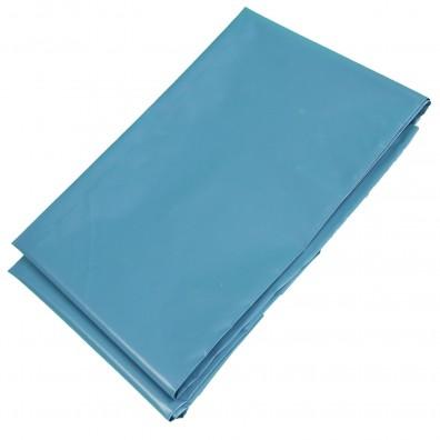 25 Stck 120 Liter Reißfeste LDPE - Abfallsäcke,  0,70x1,10, Echte 80 my, blau