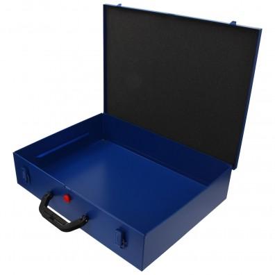 1 Stahlblech Sortimentskasten 440x330x100 ohne Facheinteilung leer