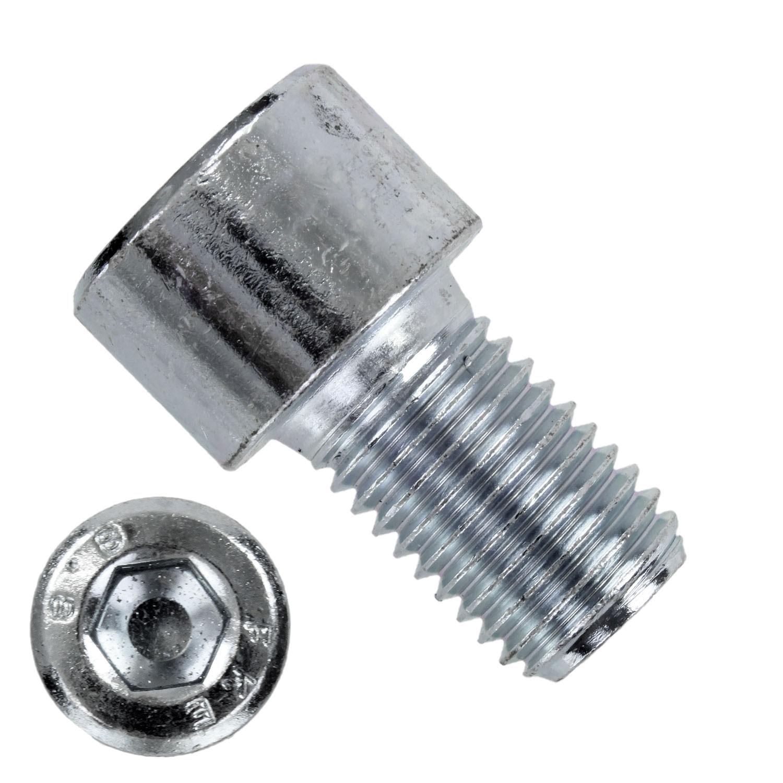 Zylinderschrauben M6x10 DIN 912 50 St/ück Festigkeit 10.9 mit Innensechskant verzinkt