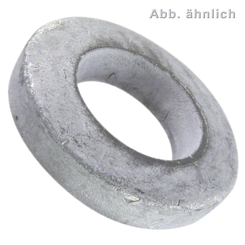 DIN 7349 6,4mm Scheibe Stahl 200 HV U-Scheiben Unterlegscheibe 1000 Stk