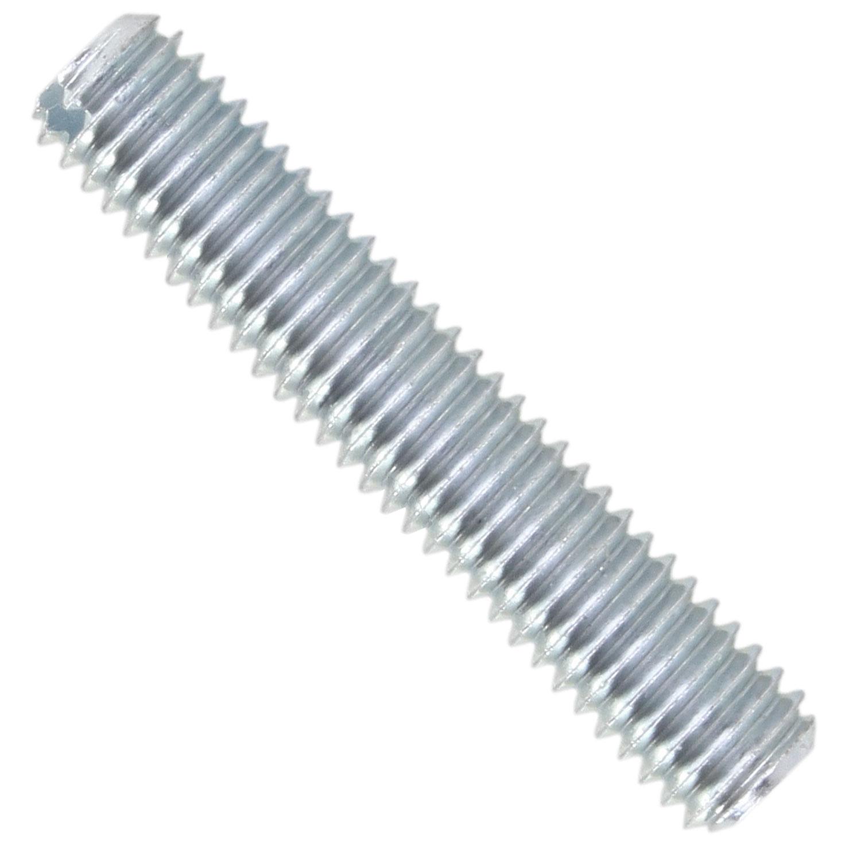25 St/ück Gewindestifte Stahl verzinkt M 8 x 100 mm