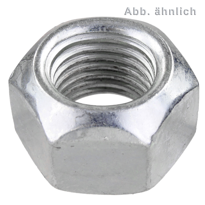 Festigkeit 8 Stahl verzinkt 100 Stk DIN 980 Sicherungsmutter M8