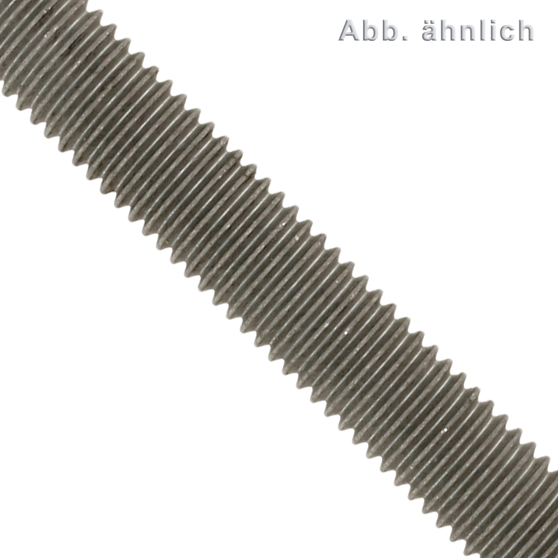 GEWINDESTANGEN M3 bis M24 mit MENGENRABATT//STAHL verzinkt EDELSTAHL  5 St/ück Gr/ö/ße M18 Material Stahl