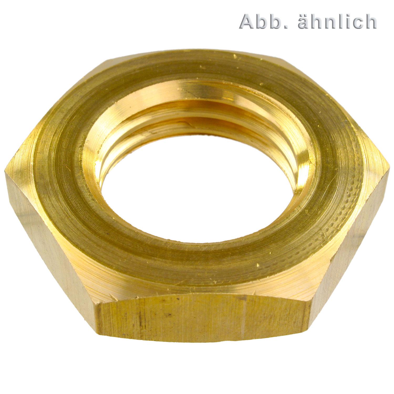 Hervorragend 1 Sechskantmutter DIN 936 niedrige Form Messing M36-2026 36 CN69