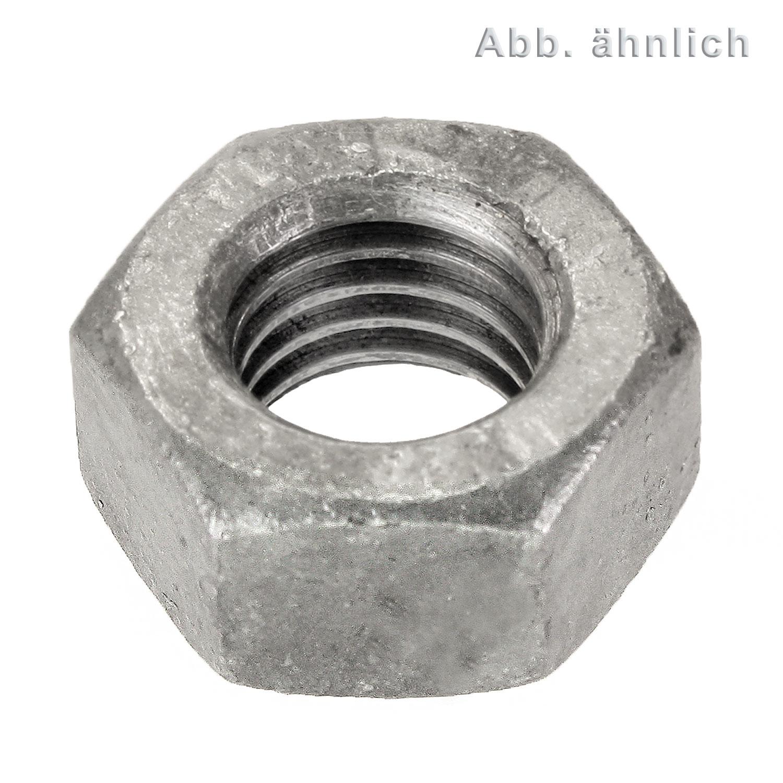 5 Stk DIN 980 Sicherungsmutter Festigkeit 10 Stahl verzinkt