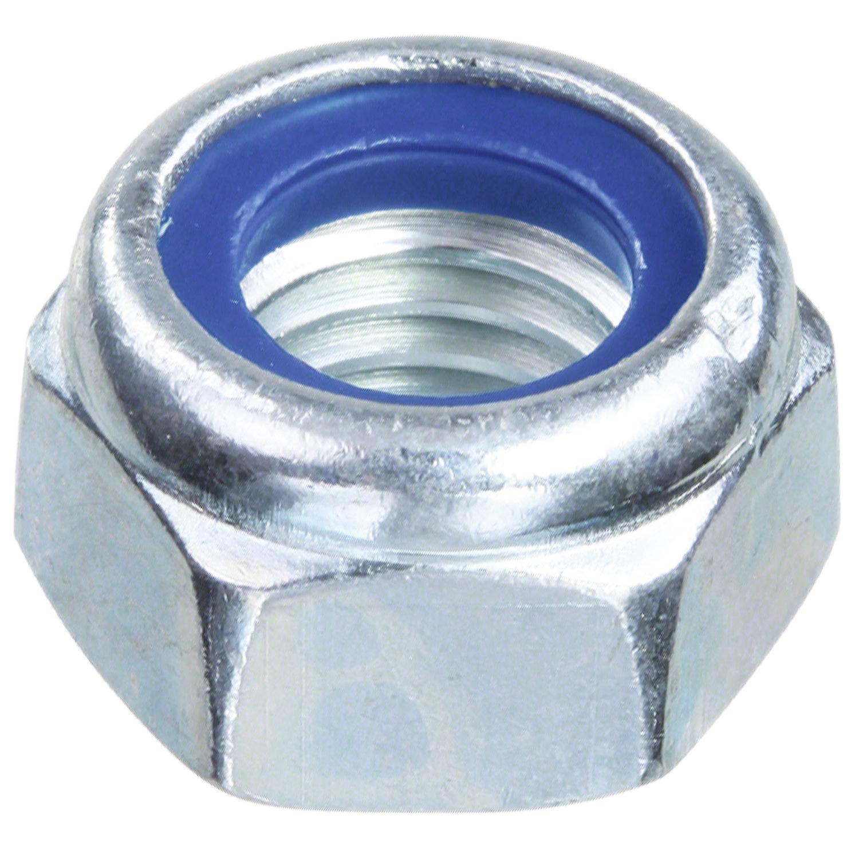 2 Stk DIN 985 Sicherungsmuttern M27 Stahl verzinkt Festigkeit 10