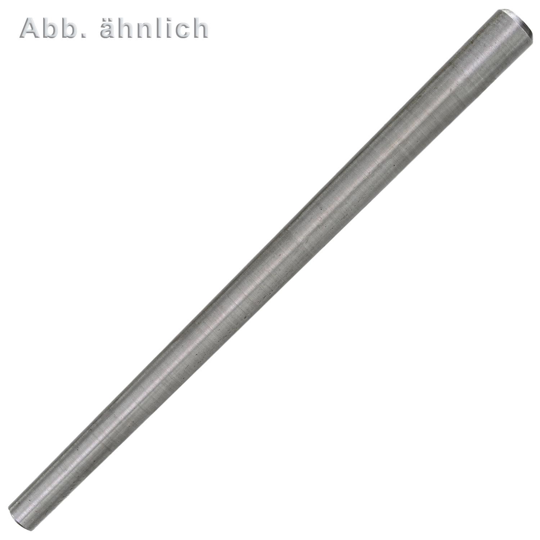 100 Kegelstifte DIN 1 Stahl B 6x50