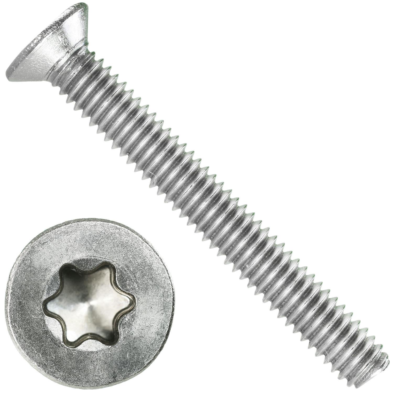 Senkschrauben Senkkopfschrauben 2 mm M2 DIN 965  2 x 3 bis 2 x 20 Edelstahl