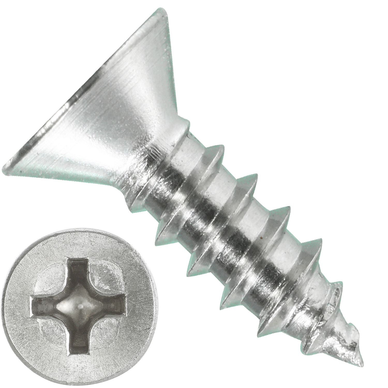 Blechschrauben Senkkopf 4,2x32 Torx Edelstahl ISO 14586 DIN 7982 Bohrspitze-selbstschneidend 4,2 x 32 mm 100 St/ück