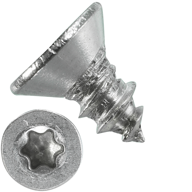 Senkkopf  Torx Edelstahl A2 Blechschrauben DIN 7982