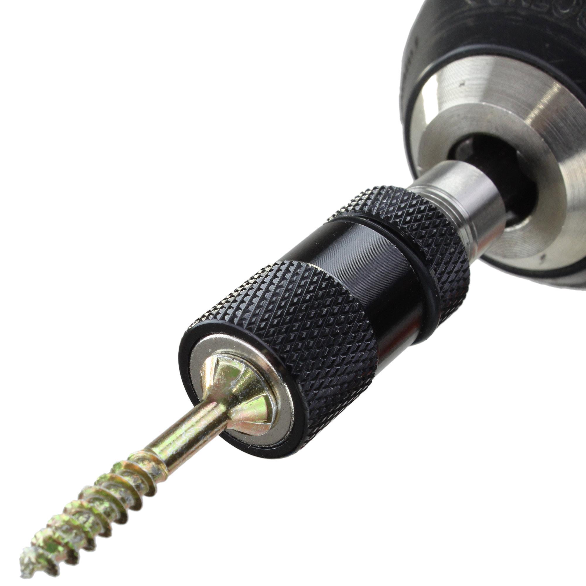 """Magnet Bithalter Trockenbau mit Tiefenanschlag 60 mm Bit 1//4/"""""""