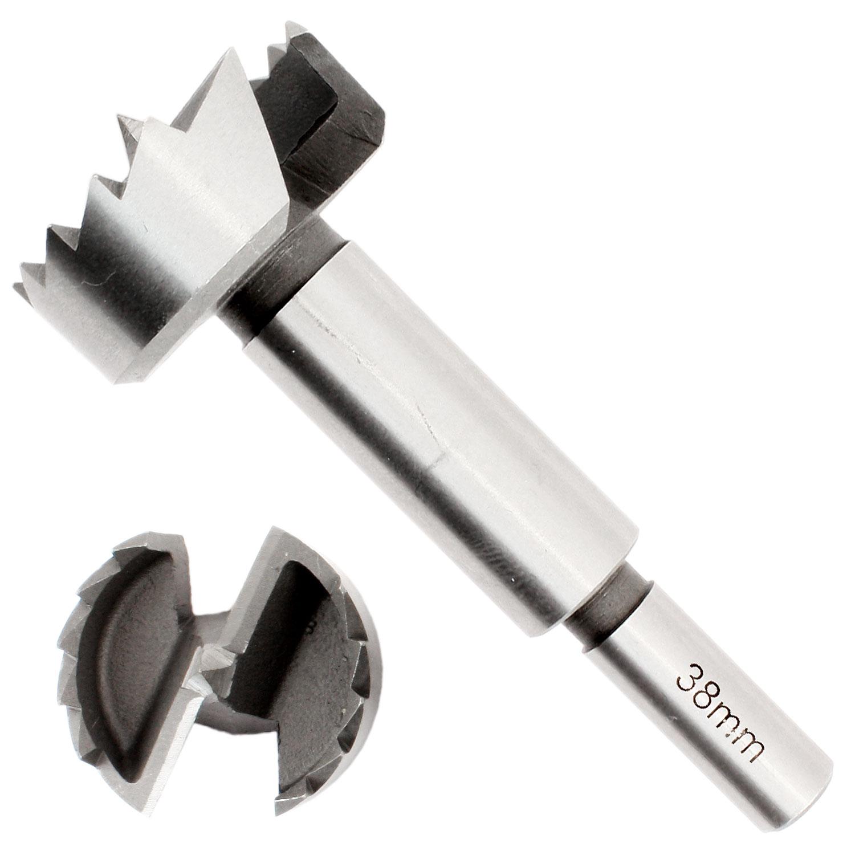 1 Premium Forstnerbohrer 12 mm /Ø pr/äzisionsgeschliffen mit Zentrierspitze 90 mm lang mit 8 mm dickem abgesetztem Schaft