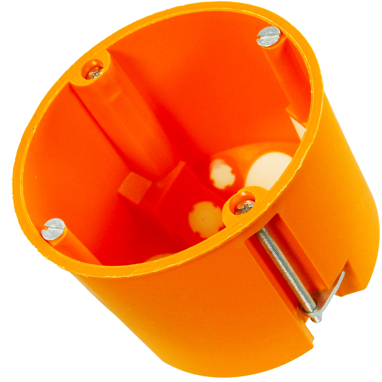 Hohlwand Ger/ätedose Winddicht 61 x 68mm orange 10 St/ück