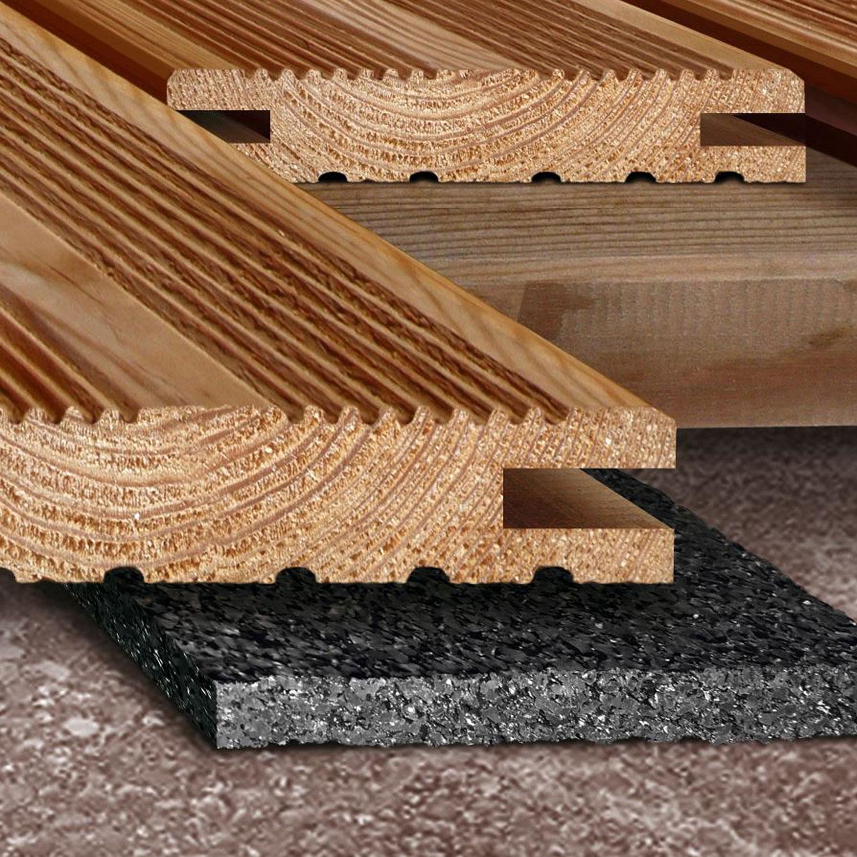 Reisser Unterlege-pad unter Terrassendiele