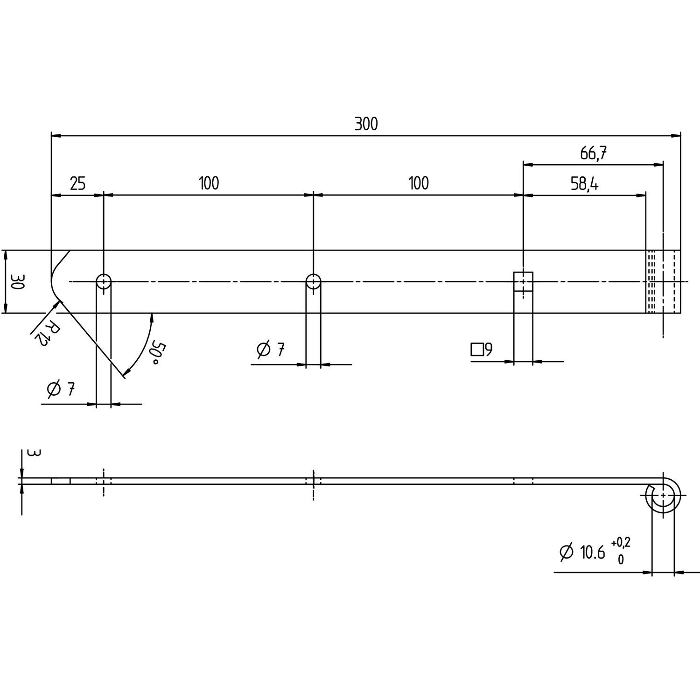 GAH-Ladenband 300 X 30mm