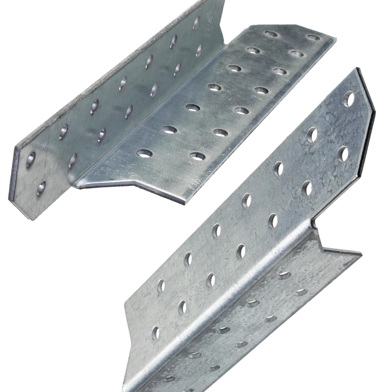1,00€//Paar Sparrenpfettenanker 170 mm links /& rechts verzinkt