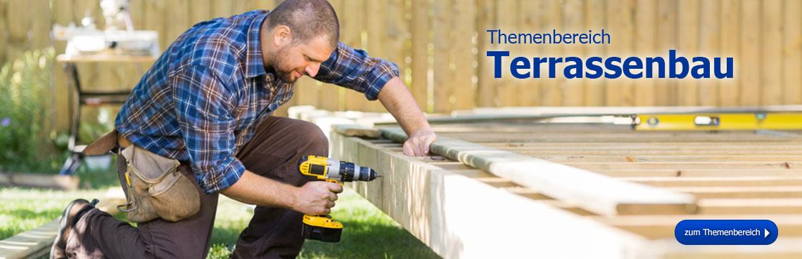 Zum Themenbereich Terrassenbau!