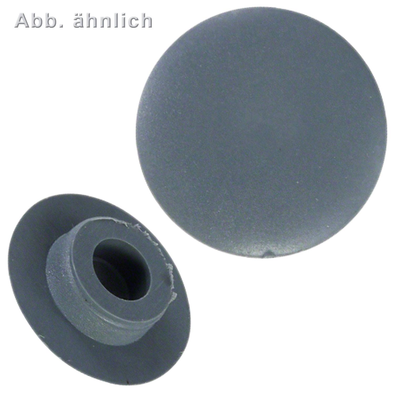 Schutzkappen für Schrauben M8 grau Sechskantschrauben Kunststoff Abdeckkappen