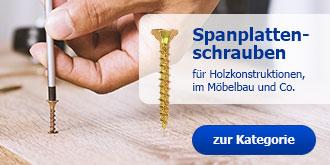 Spanplattenschrauben: für Holzkonstruktionen und im Möbelbau
