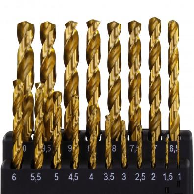 Inhalt Spiralbohrer Sortiment DIN 338 HSS-Stahl