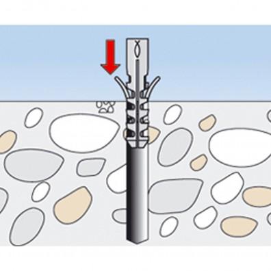 fischer Montageanleitung WC Befestigungsset Schritt 2