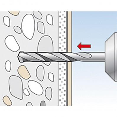fischer Waschtisch- und Urinalbefestigung Montagegrafik 1