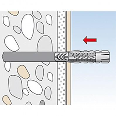fischer Waschtisch- und Urinalbefestigung Montagegrafik 2
