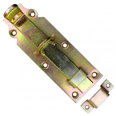 Doppeltorüberwurf aus gelb verzinktem Stahl