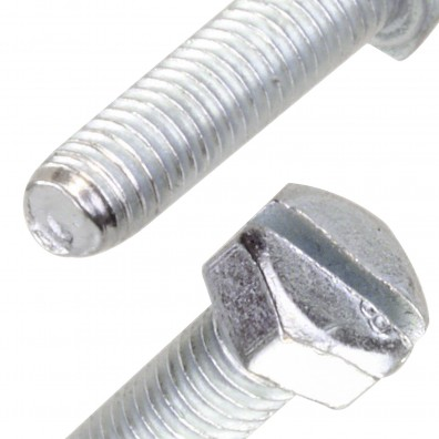 Detailansicht Sechskantschraube DIN 933 / DIN 962