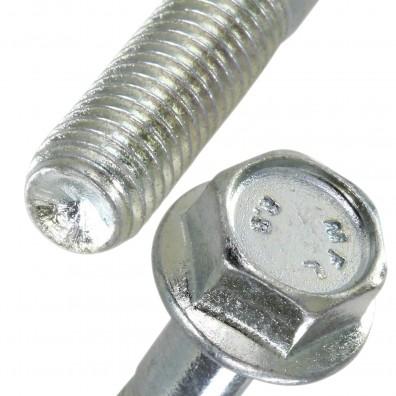 Detailansicht Sechskantschrauben mit Flansch - DIN 6921 - 8.8 - verzinkt