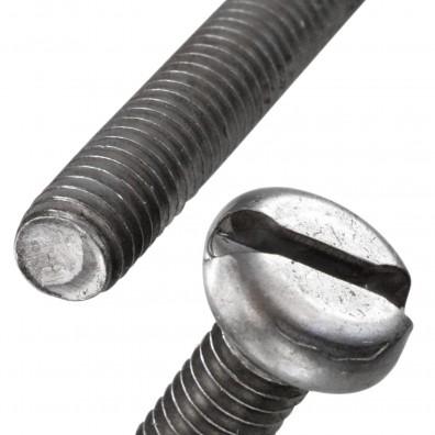 Flachkopfschraube DIN 85 Stahl 4.8