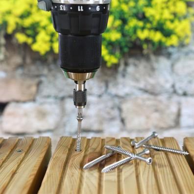 EuroTec Terrassenschraube Detailansicht