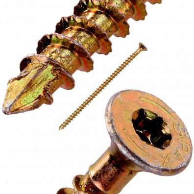 Detailansicht SPAX Holzbauschraube Senkkopf