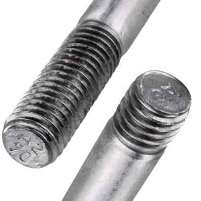 Detailansicht Stiftschraube - DIN 938 - Edelstahl A2