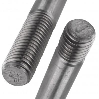 Detailansicht Stiftschraube - DIN 939 - Edelstahl A2