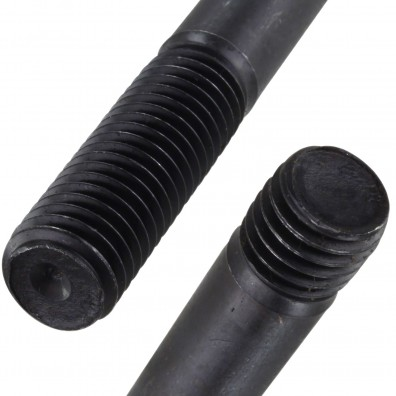 Detailansicht Stiftschraube - DIN 938 - blank 8.8
