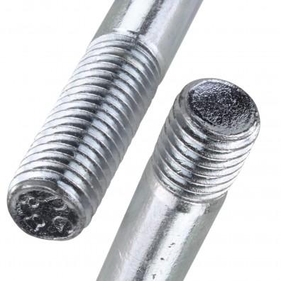 Detailansicht Stiftschraube - DIN 939 - verzinkt 8.8