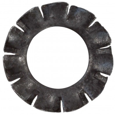 Detailansicht Fächerscheibe - DIN 6797 - Federstahl- Form A - blank