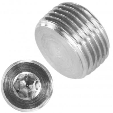 Detailansicht Verschlussschraube - DIN 906 - kegelige Feingewinde - Edelstahl A4