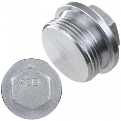 Verschlussschrauben - DIN 910 - galvanisch verzinkt - Rohrgewinde