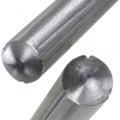 Detailansicht Zylinderkerbstift - DIN 1473 - blank